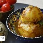 Bengali Niramish Aloor Dum recipe by Foodie's Hut