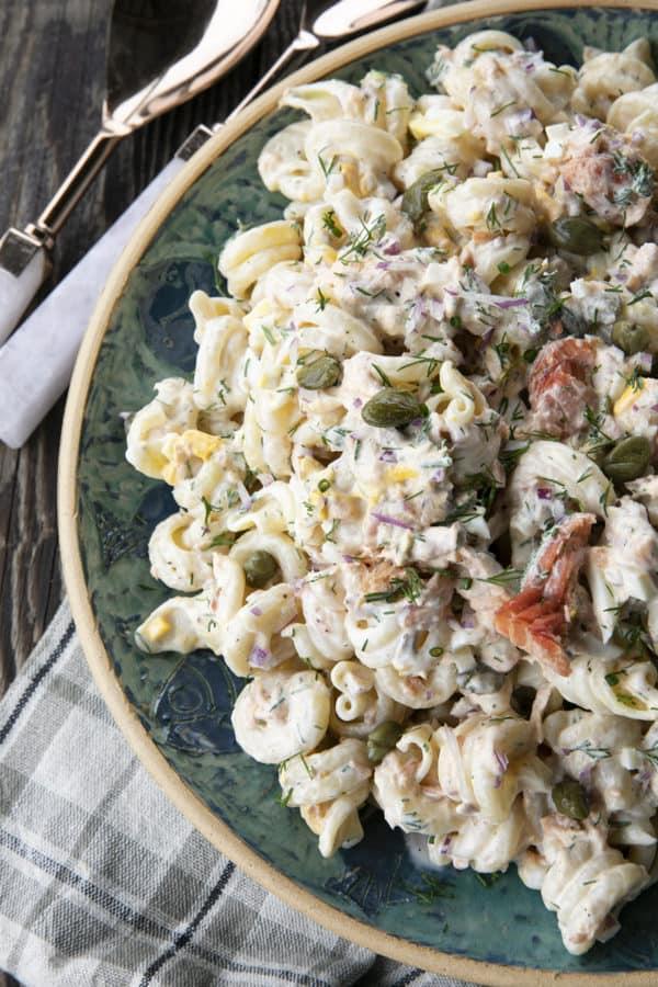 salmon pasta salad 3