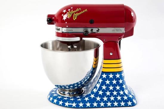 Wonder Woman KitchenAid Stand Mixer  Foodiggity