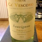 Un vino giovane, da bere giovane: Sauvignon Ca' Vescovo