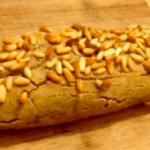 Plumcake di grano saraceno con ricotta e pinoli