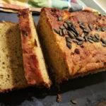 Plumcake salato di zucca, ricotta e crudo di carpegna