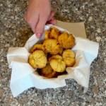 Biscottini senza glutine con farina di cocco e mais