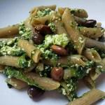 Penne cime di rapa e olive
