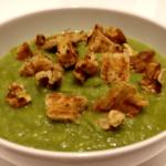 Vellutata broccoli e porro