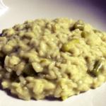Risotto asparagi e roquefort
