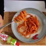Spaghettoni piccanti di ortolina