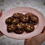 Biscotti di canapa e riso all'olio di cocco