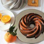 Bundtcake di farro all'arancia