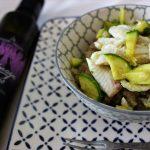 Porridge di Teff sogliole, zucchine al limone e Menage a Trois