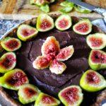 Tarte cioccolato e fichi