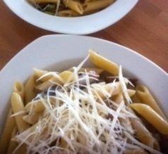 snel pastarecept met champignons