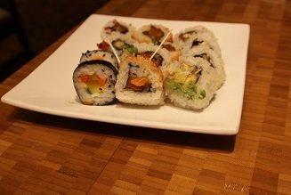 The Buffet Aria LV Sushi