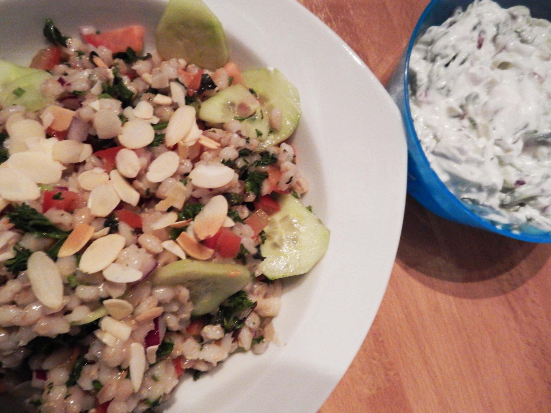 Salade van Parelgort