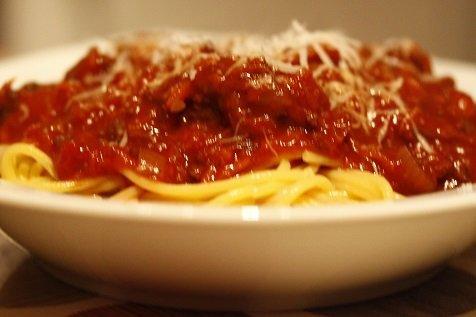Verse pastasaus met groente