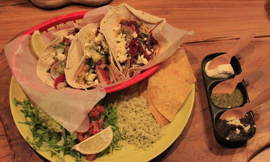 TexMex eten in Haarlem Soft taco