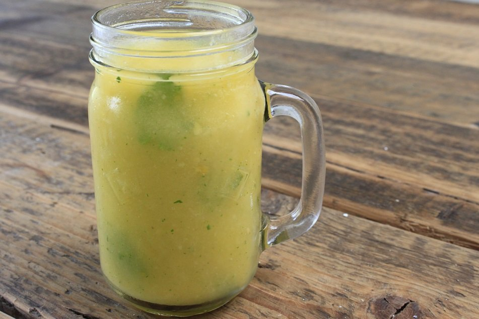 Mango munt smoothie met kokoswater recept foodblog