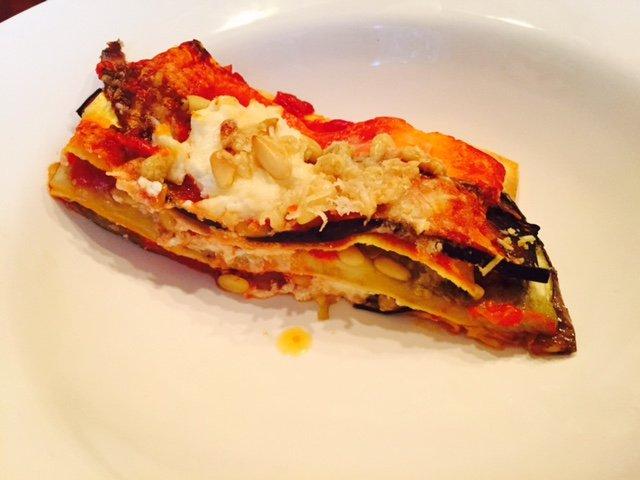 Aubergine lasagne recept zilveren lepel kookschool kookboek foodblog Foodinista