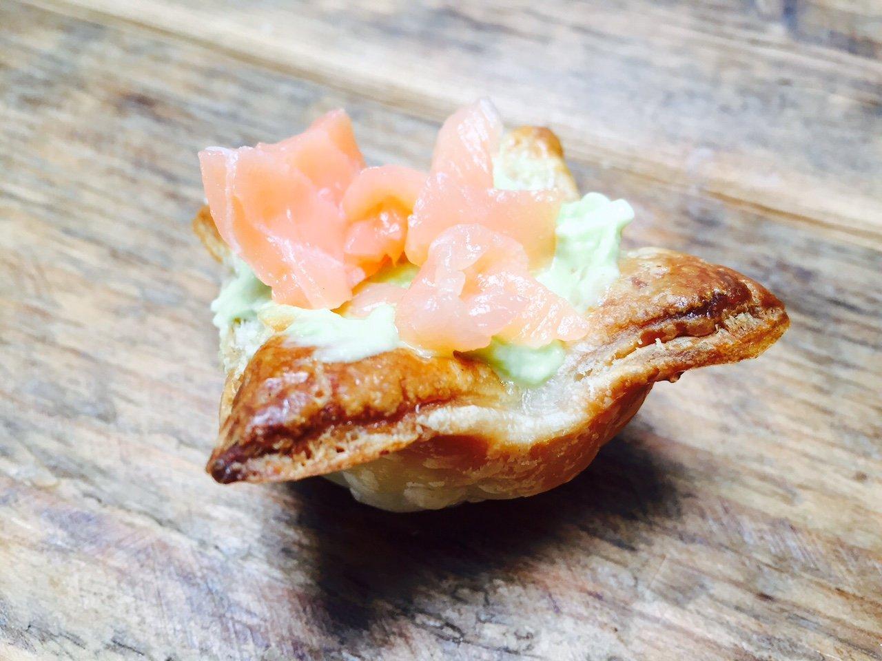 Zalm avocado borrelhapje recept foodblog Foodinista