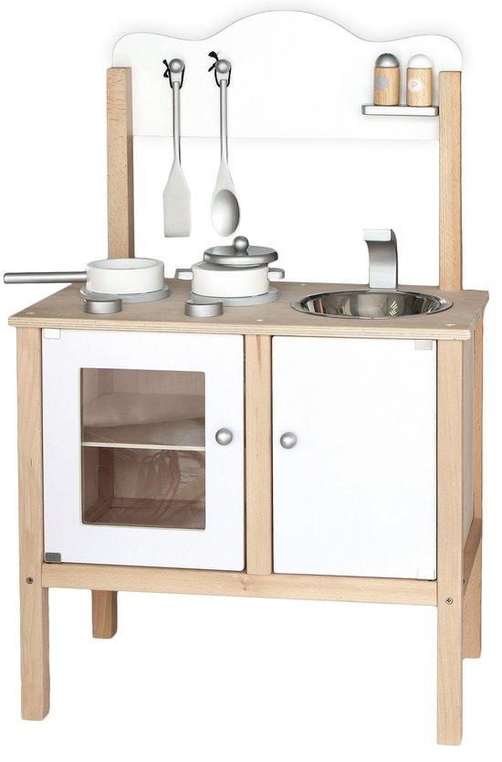 Witte houten kinder keuken speelgoed Sinterklaas tips Mamablogger Foodinista