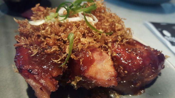 Lunchen bij Ron Gastrobar Amsterdam Foodblog Foodinista Spareribs met Rons sambal