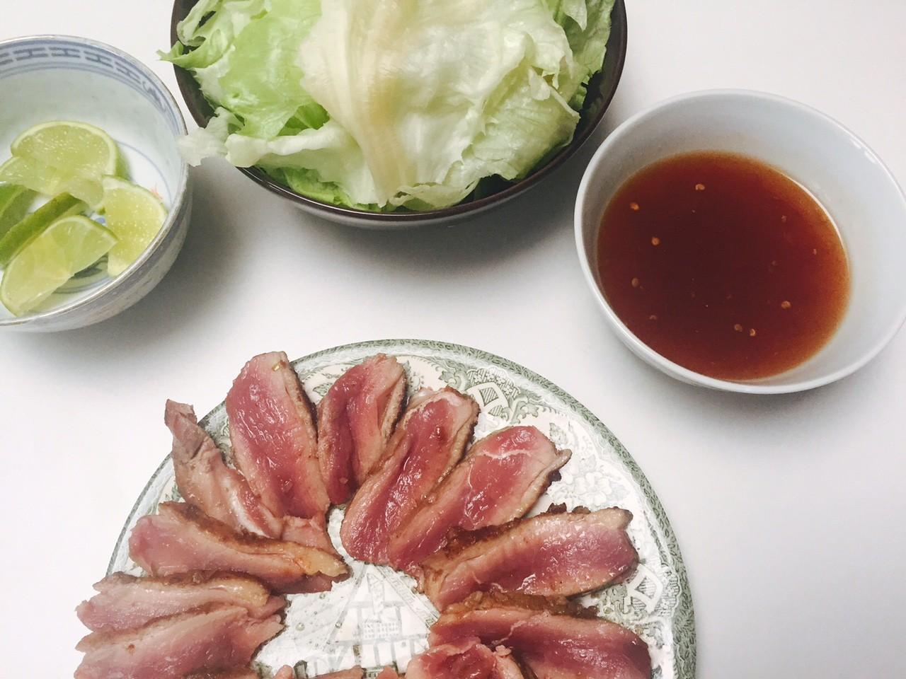 Eendenborst recept foor eendenborst wraps foodblog Foodinista