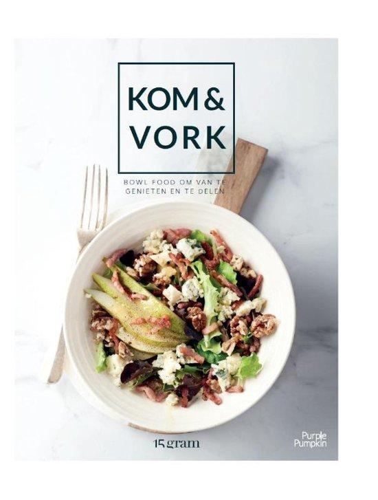 Kookboek review met recept van Kom en Vork Foodblog Foodinista