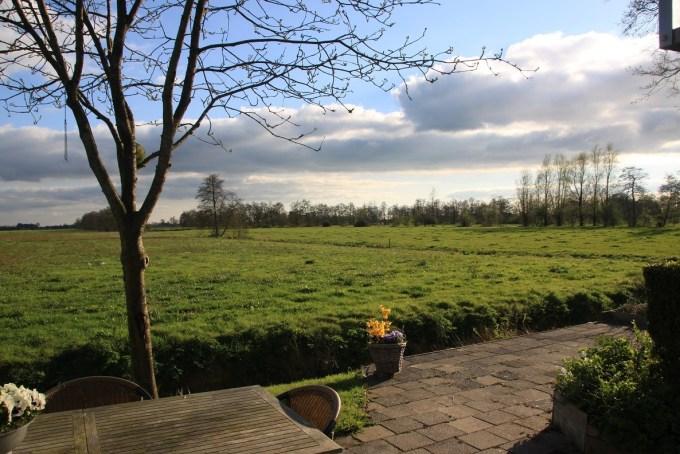 Vrij uitzicht ons vakantiehuis in de Alde Feanen Friesland Foodblog Foodinista