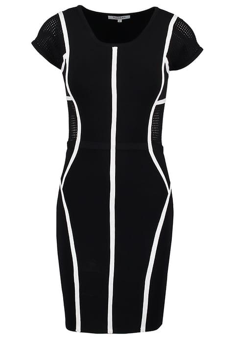 Zwart witte jurkje Dress to Impress met korting