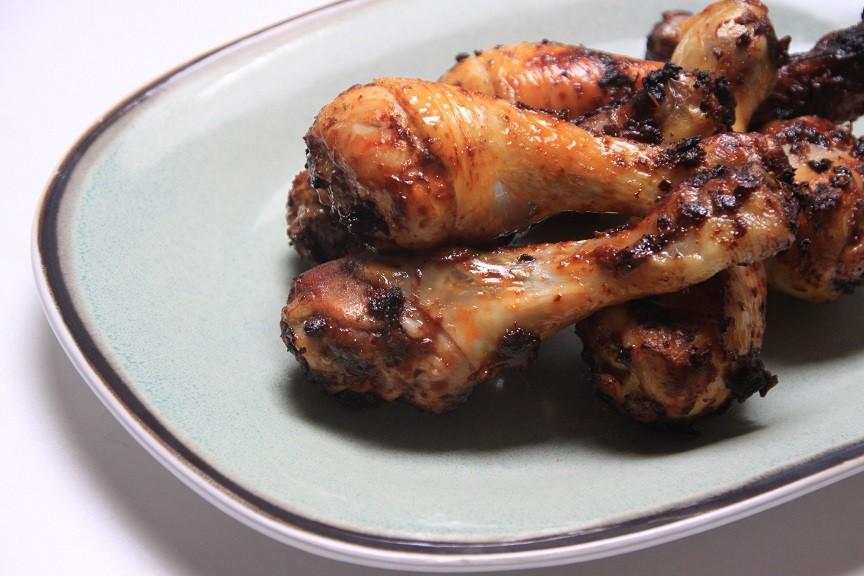 Airfryer recept Drumsticks met cacao en limoen marinade recept van Foodblog Foodinista