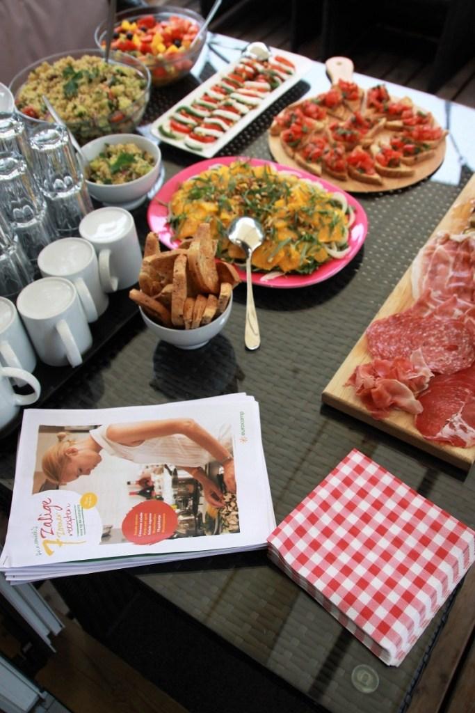 Lunch van Keukenliefde dagje Eurocamp Foodinista