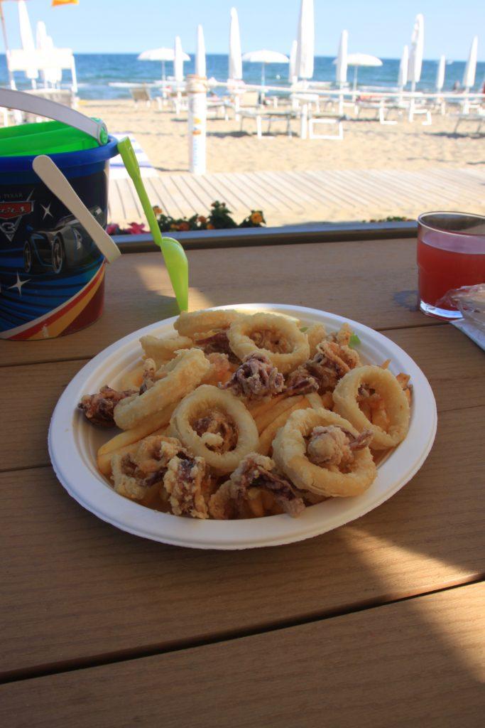 Eten op het strand Vakantie Italië Eurocamp Winactie Foodinista