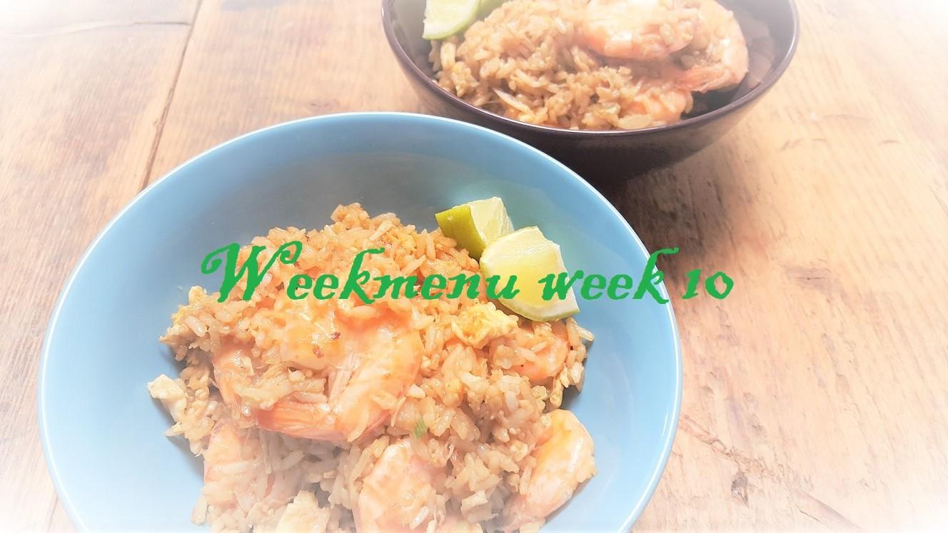 Recepten in gevarieerd en makkelijk weekmenu week 10 Foodblog Foodinista