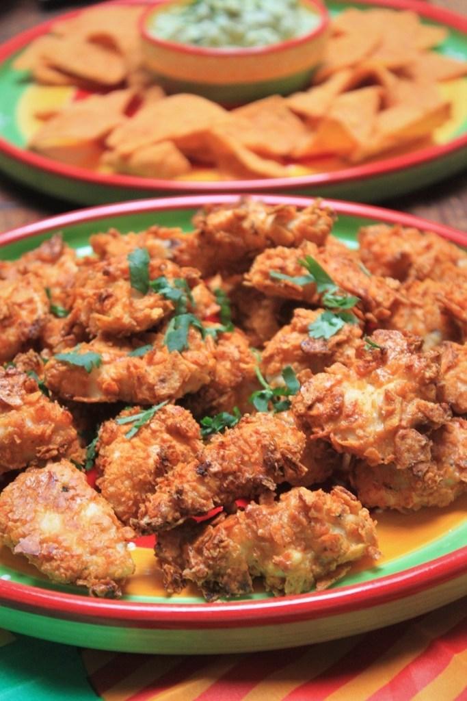 Mexicaanse fiesta Kipnuggets met Croky tortilla korst met Croky Tortilla winactie op Foodblog Foodinista