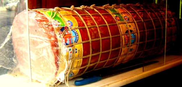 italy salami