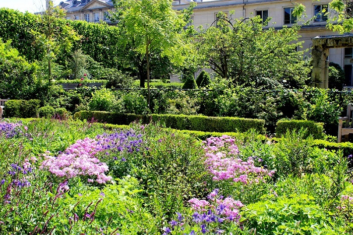 Hidden Garden in the Marais District