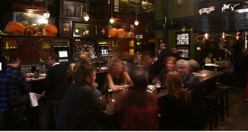 Breslin Bar And Dining Room Menu
