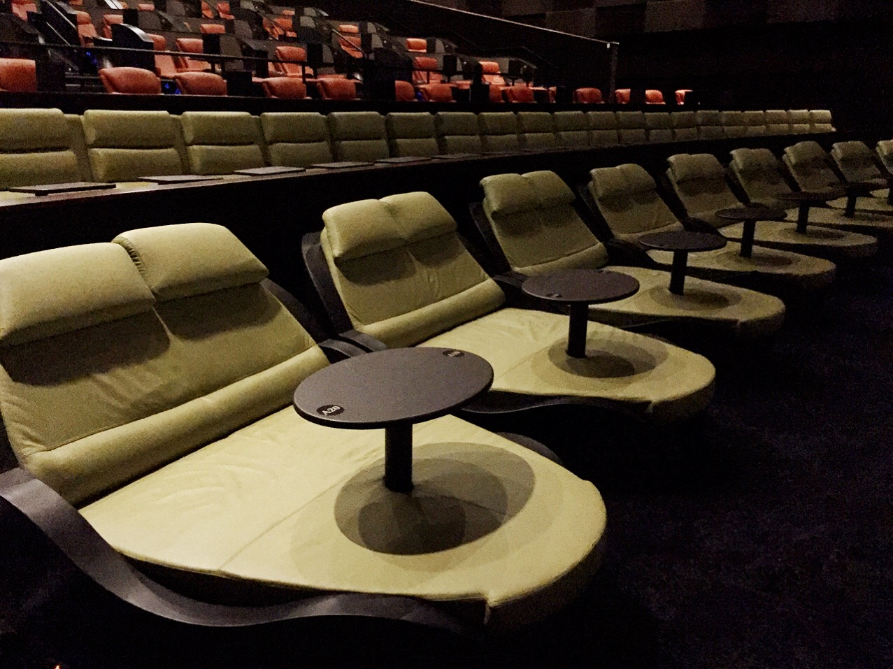 sofa theater pasadena off white leather movie lounge chairs ipic theaters the