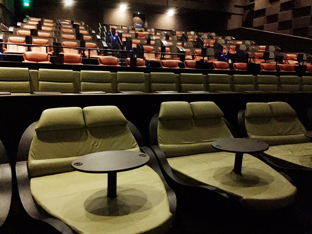sofa theater pasadena how to remove a pen mark from leather movie lounge chairs ipic theaters the