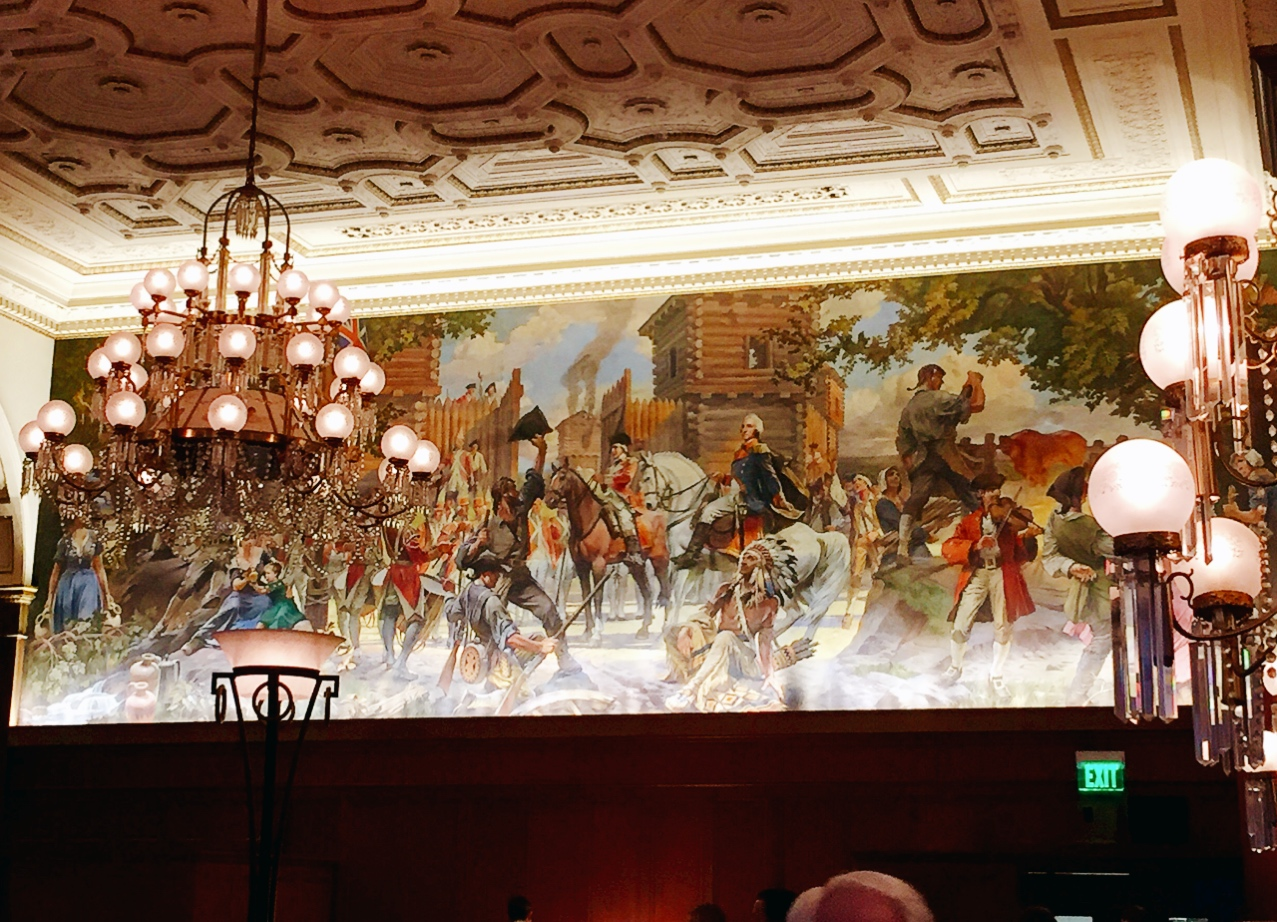 terrace room omni william penn hotel food lover girl there were plenty of seating and the architecture was really amazing they have original molded plaster ceiling with mahogany arches