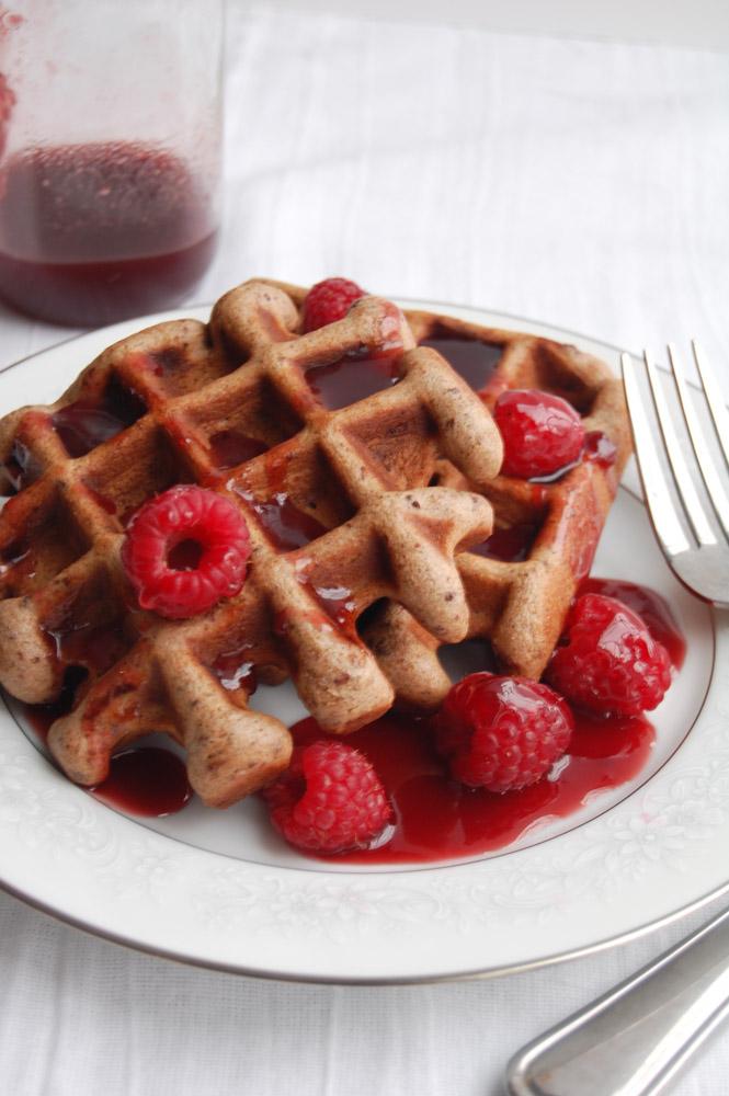 chcolate waffles