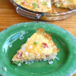 Hash Brown Crust Breakfast Casserole