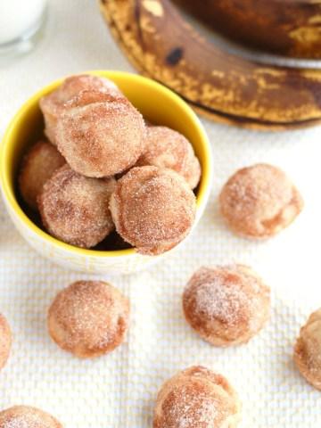 banana donut holes