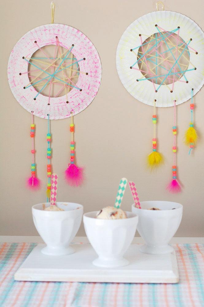 Dream Catcher Craft for Kids Food Lovin Family