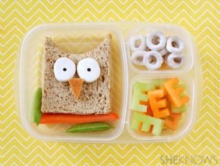 Owl Sandwich-SheKnows