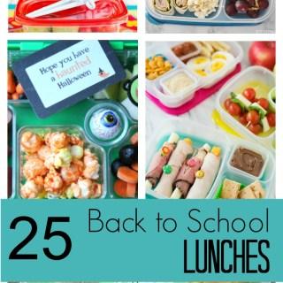 25 Back to School Lunch Box Ideas Kids Will Love