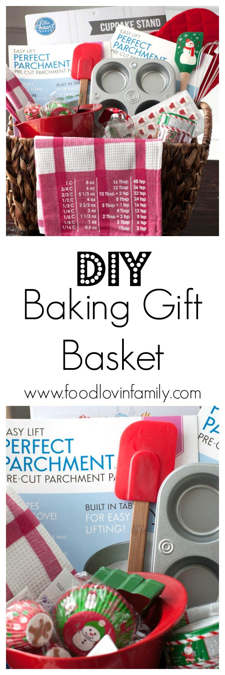 DIY Baking Gift Basket - Food Lovin Family