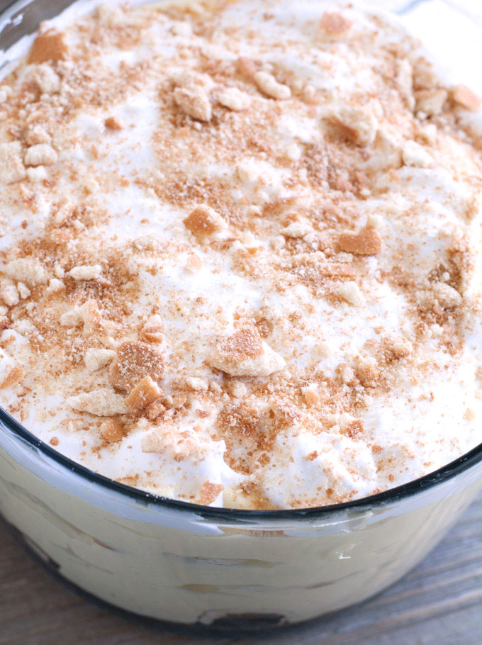 Banana Pudding Topping