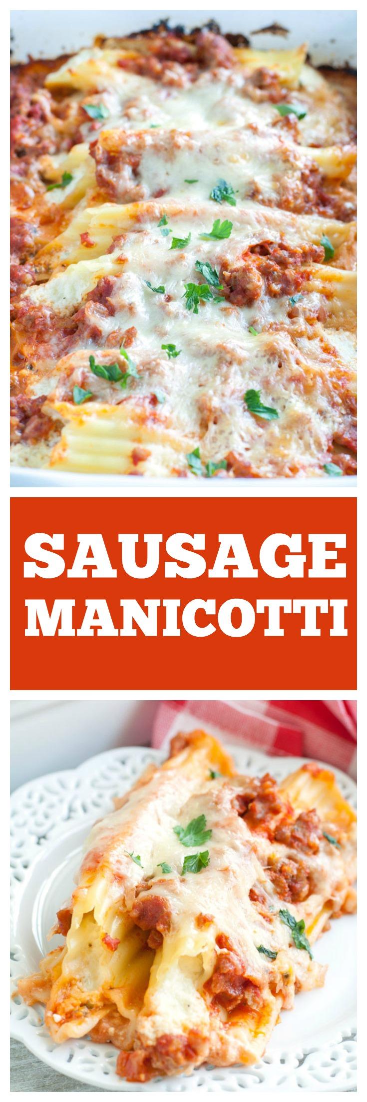 Sausage Manicotti PIN
