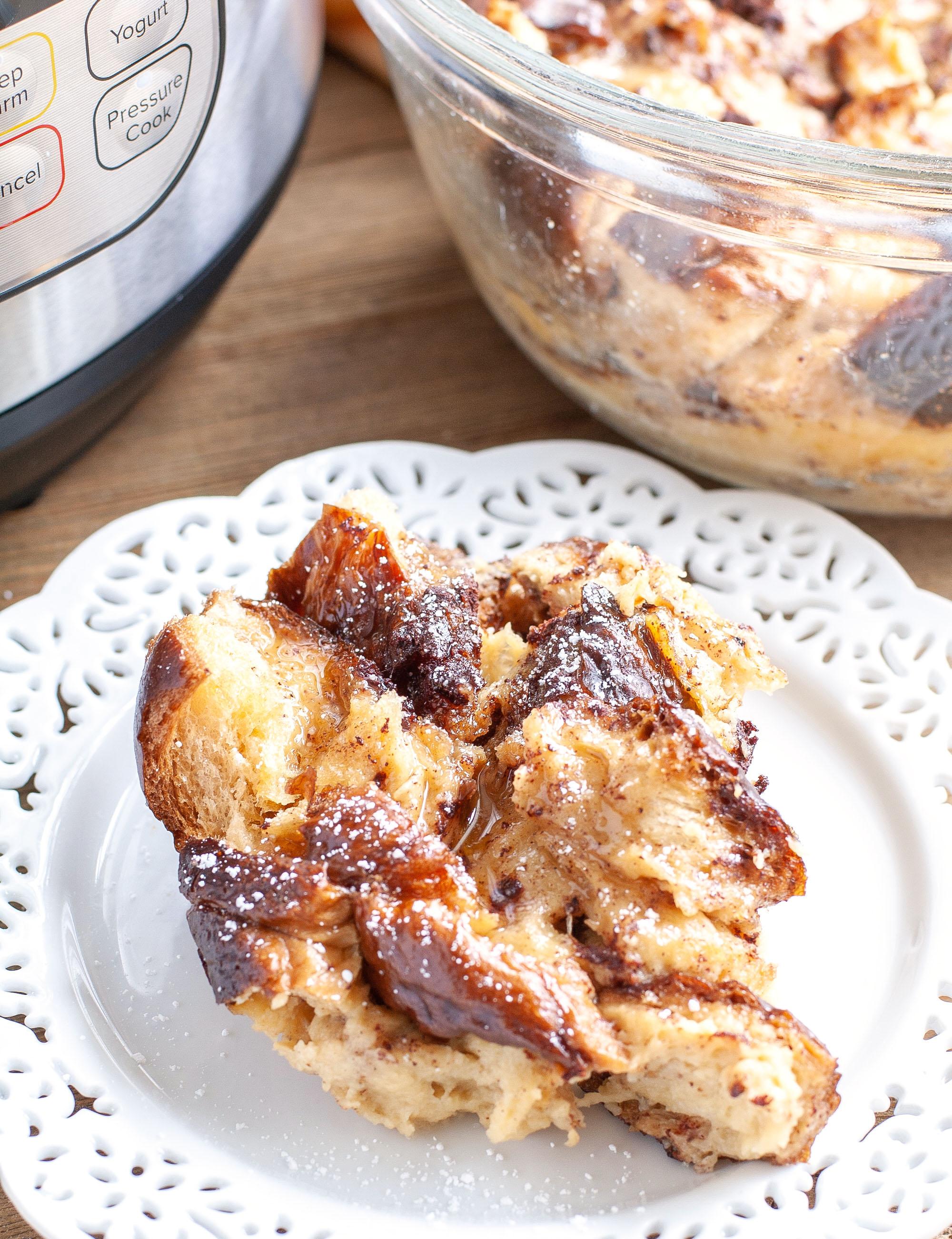 Instant Pot French Toast Casserole - Food Lovin Family